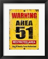 Area 51 Fine Art Print