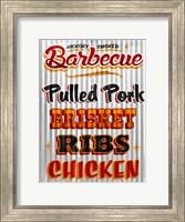 Barbeque Hickory Smoked Corregate Metal Fine Art Print