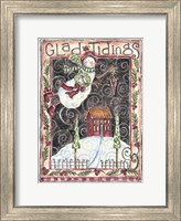 Glad Tidings Snow Angel Fine Art Print