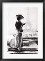 Traveler Charcoal Fine Art Print
