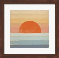 Sunrise Over the Sea Fine Art Print