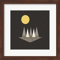 Camping On the Edge of the World Fine Art Print