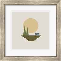 Sunny Day For Camping Fine Art Print