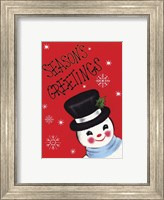 Holiday Sg Snowman Fine Art Print