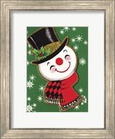 Holiday Snowman Fine Art Print