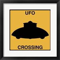 UFO Crossing Fine Art Print