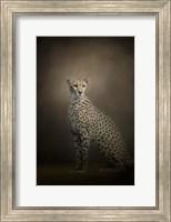The Elegant Cheetah Fine Art Print