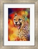 Colorful Expressions Cheetah 2 Fine Art Print