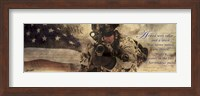 Armed With Valor Fine Art Print