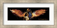 No Greater Love Fireman Rescue Fine Art Print