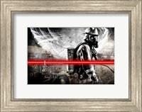Send Me Firefighter 1 Fine Art Print