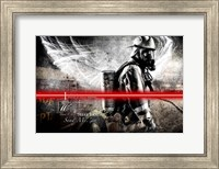 Send Me Firefighter 1 Fine Art Print