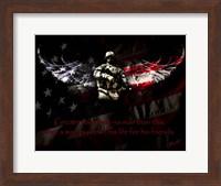 American Soldier Fine Art Print