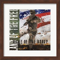 Home of the Brave Fine Art Print