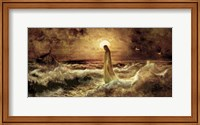 Christ On Water Fine Art Print