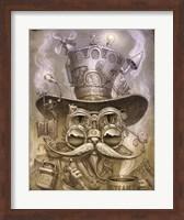 Steampunk Cat 2 Fine Art Print