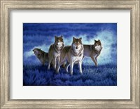 Blue Legend Fine Art Print