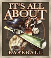 All About Baseball Fine Art Print