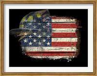Flag Helmet Fine Art Print