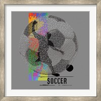 Soccer - Player Fine Art Print