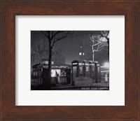 Night Time Coffee, London Fine Art Print