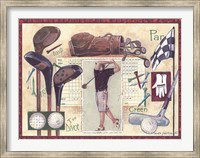 Golf Swing Fine Art Print