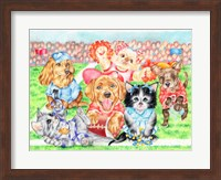Fluffie Football Fine Art Print