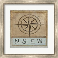 Compass Rose II Fine Art Print