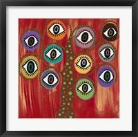 Evil Eye Tree I Fine Art Print