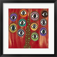 Evil Eye Tree I Fine Art Print