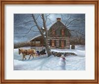 Winter Moonlight Fine Art Print