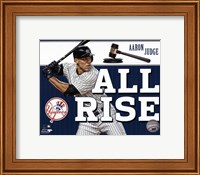 "Aaron Judge """"All Rise"""" Fine Art Print"