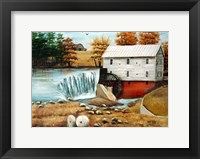 Murray's Mill in the Fall Fine Art Print