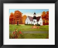 St. Paul's in Autumn Fine Art Print