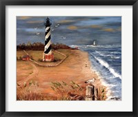 Cape Hatteras and the Seagull Fine Art Print