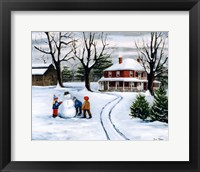 Winter Fun Fine Art Print