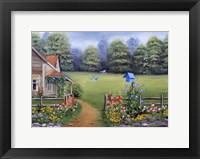 Bluebird House Fine Art Print