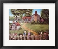 The Blanton Place Fine Art Print