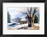 Old Grist Mill Fine Art Print