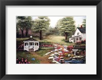 The Rock Garden Fine Art Print