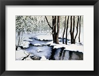 Snow Trees Fine Art Print