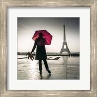 Under the Red Umbrella Fine Art Print