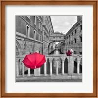 Red Umbrella 1 Fine Art Print