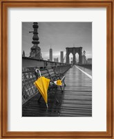 Yellow Umbrella Fine Art Print