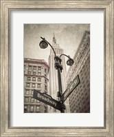 Broadway Intersection Fine Art Print