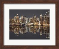 Manhattan Reflections Fine Art Print