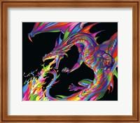 Fantasy Dragon Fine Art Print