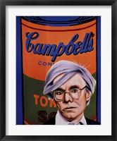 Homage to Andy Warhol Fine Art Print