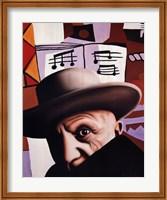 Homage to Pablo Picasso Fine Art Print