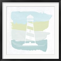 Seaside Swatch Lighthouse Fine Art Print